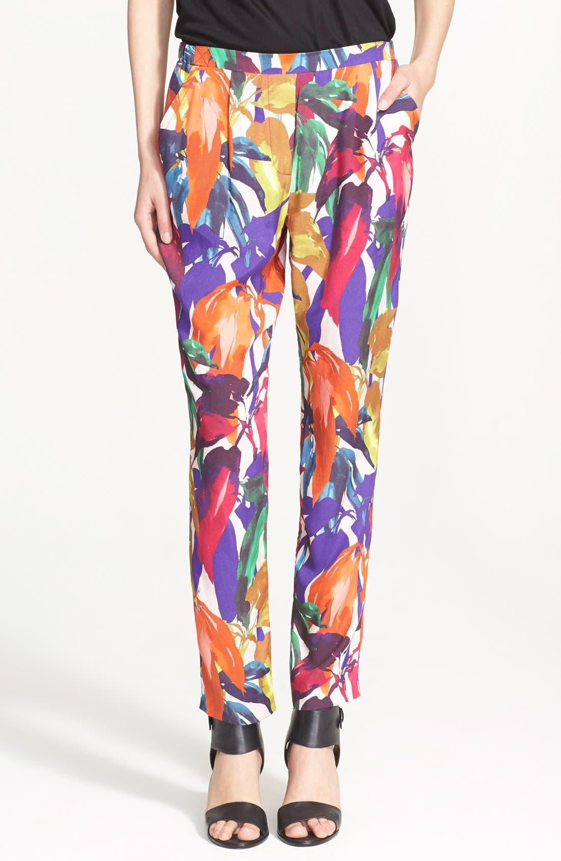 Alternate Image 1 Selected - Trina Turk 'Gilly' Print Pants