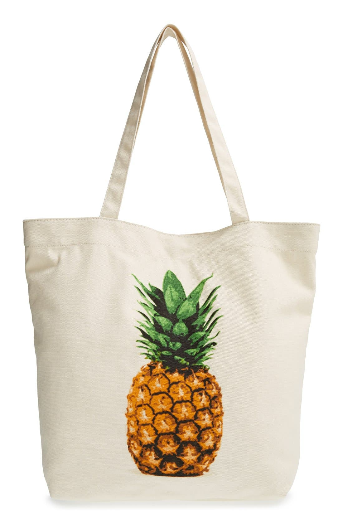Main Image - BP. Printed Canvas Tote