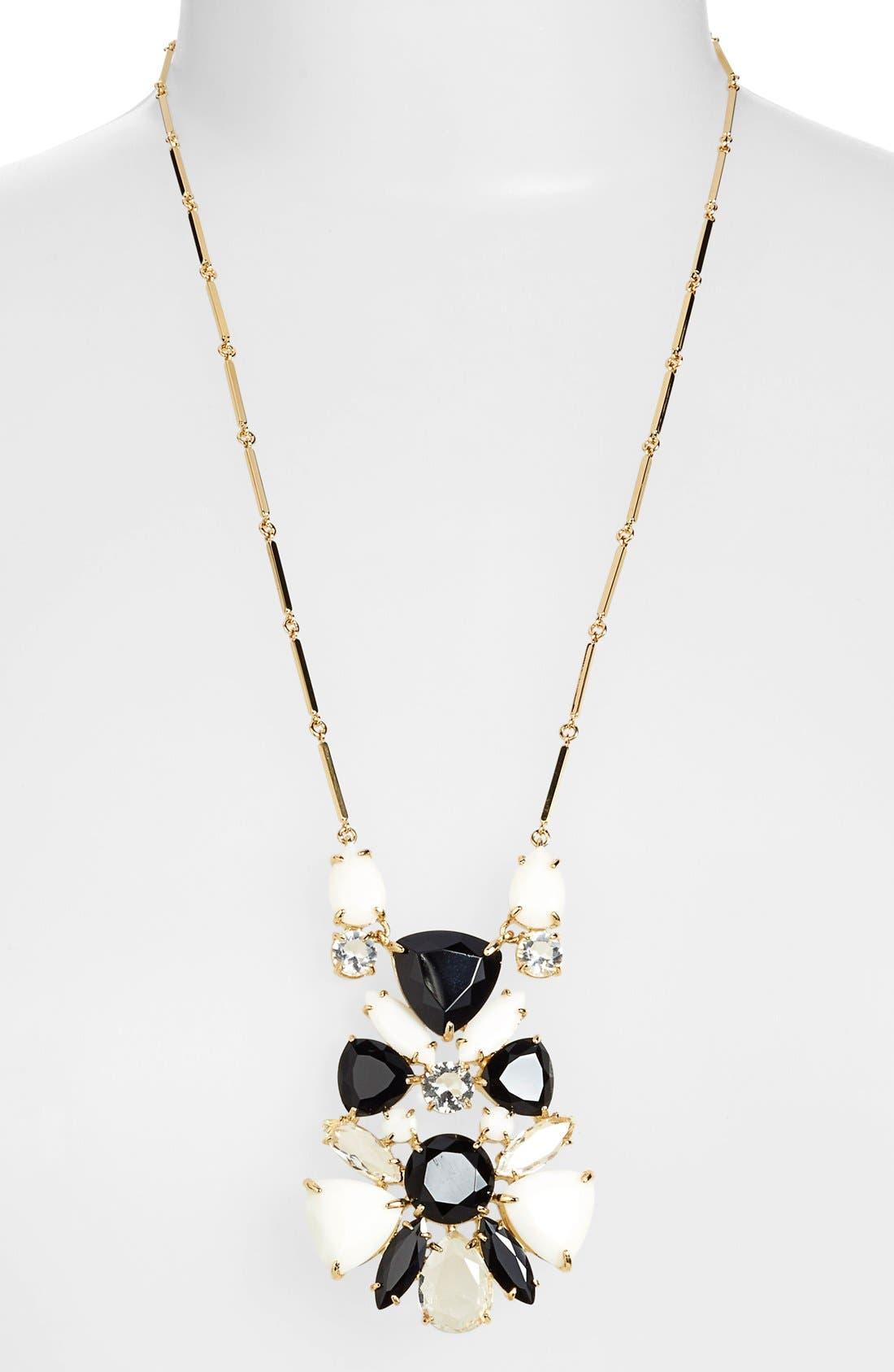 Alternate Image 2  - kate spade new york 'twinkle lights' cluster pendant necklace