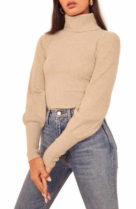 Reformation Victoria Turtleneck Sweater