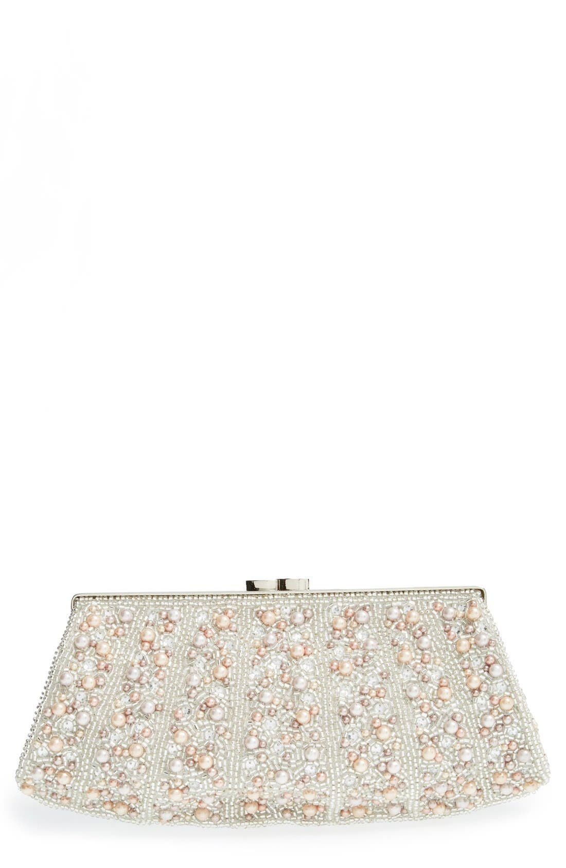 Main Image - Glint 'Pearl Encrusted' Clutch