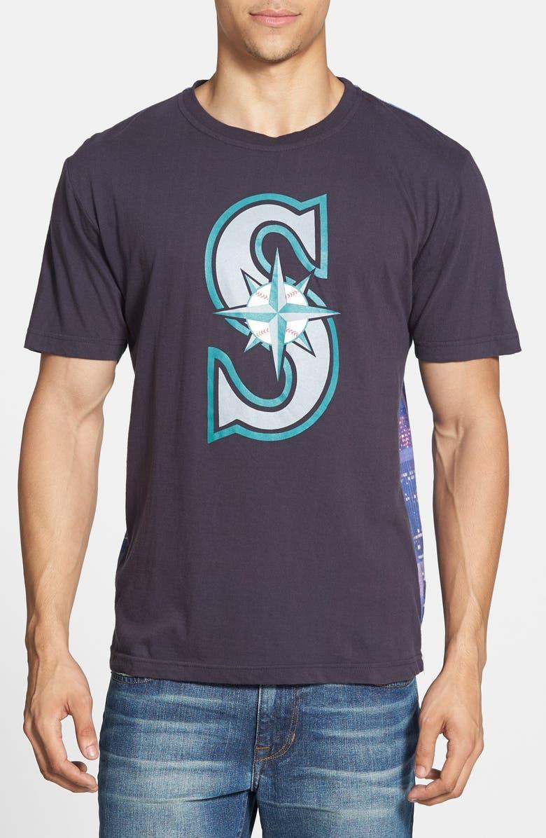 Wright Ditson Seattle Mariners Metro Graphic Print T Shirt