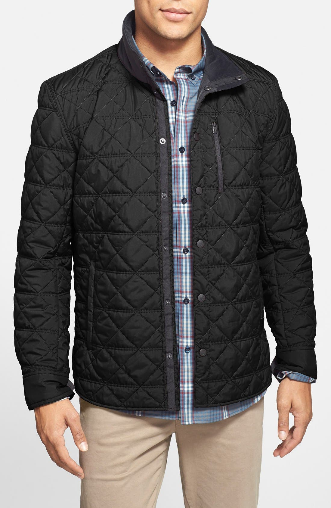 Alternate Image 1 Selected - Victorinox Swiss Army® 'Bernhold' Quilted Thermore® Insulated Jacket (Online Only)
