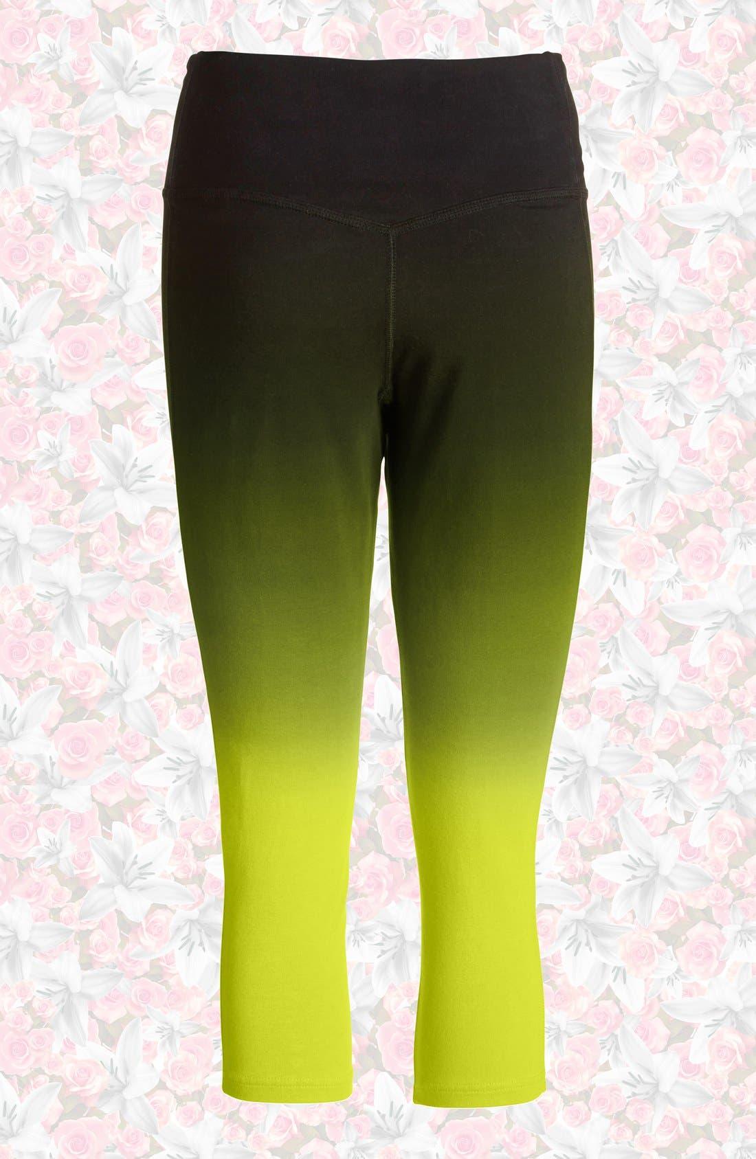 Alternate Image 2  - Nike 'Legend 2.0 Sunset Tight' Dri-FIT Training Capri Leggings (Women)