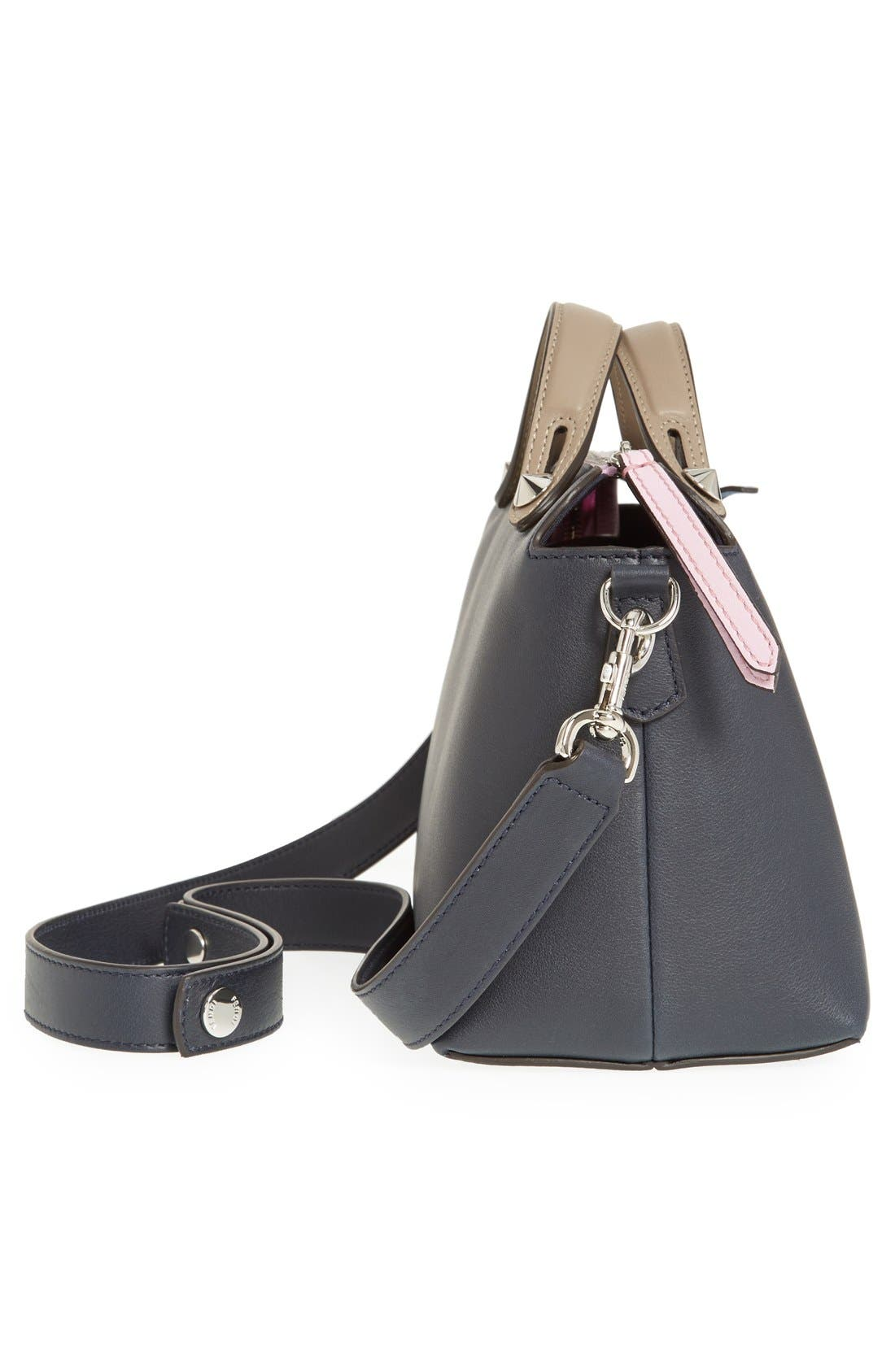 Alternate Image 5  - Fendi 'Small By the Way' Colorblock Leather Shoulder Bag