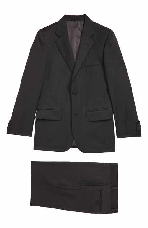 JB Jr. Two-Piece Charcoal Suit (Big Boys)