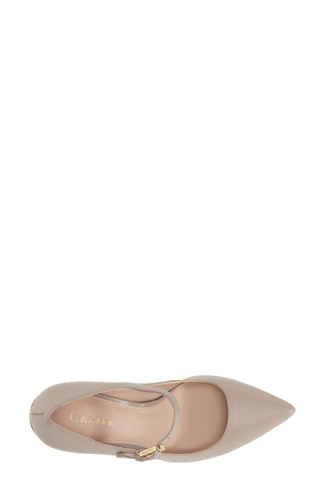 Alternate Image 3  - Calvin Klein 'Genavee' Pointy Toe Pump (Women)