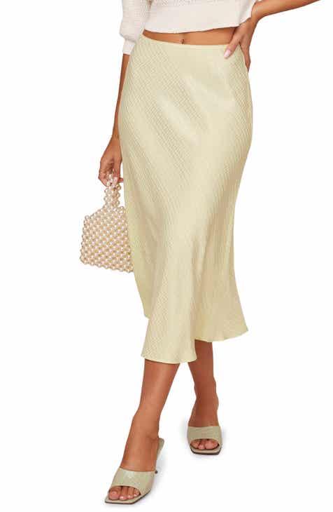 ASTR the Label Nava Slip Skirt