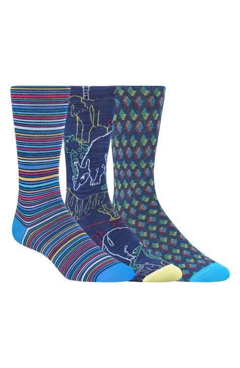 Bugatchi 3-Pack Sock Gift Set