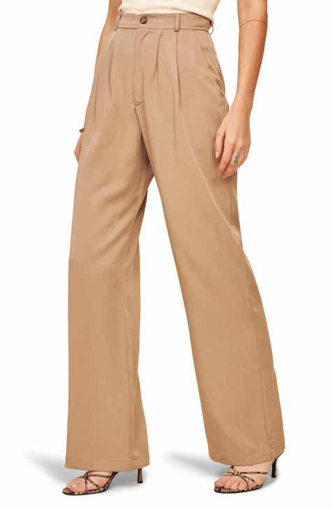 Reformation Mason Wide Leg Pants