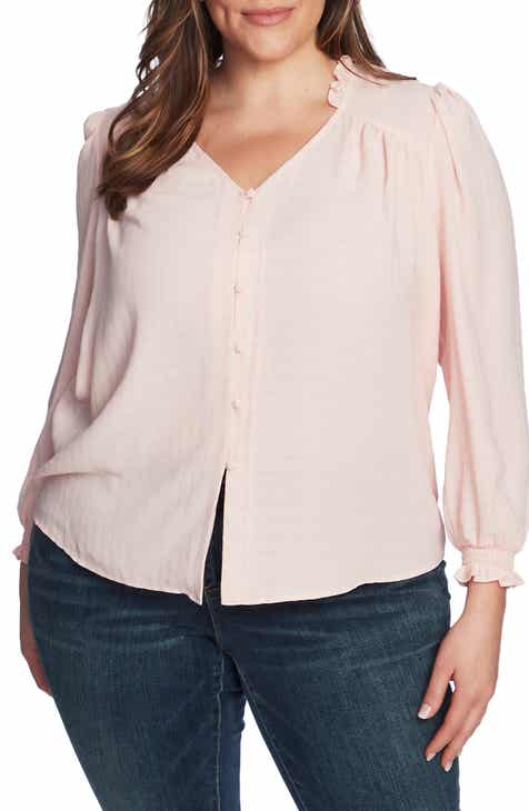 1.STATE Button Front Top (Plus Size)