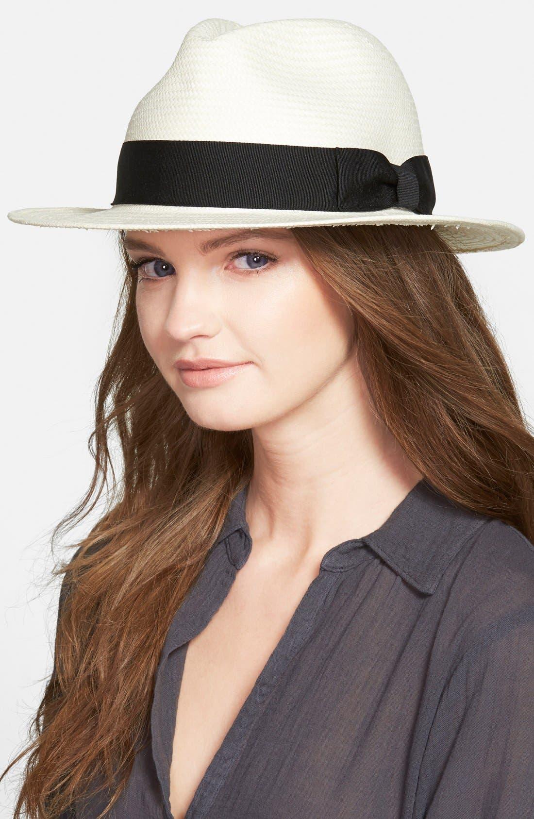 Panama Hat,                             Alternate thumbnail 2, color,                             Natural