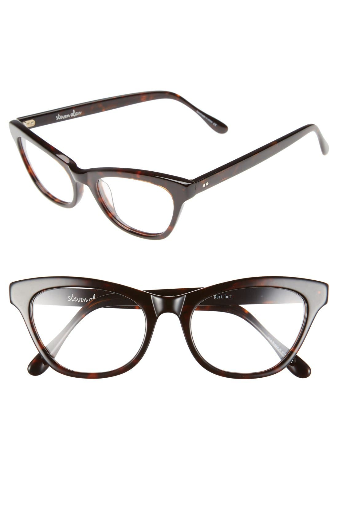 Alternate Image 1 Selected - Steven Alan 'Bayview' 51mm Cat Eye Optical Glasses