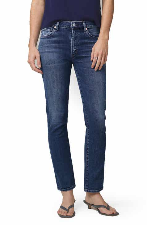 Citizens of Humanity Skyla High Waist Ankle Cigarette Jeans (Charisma)