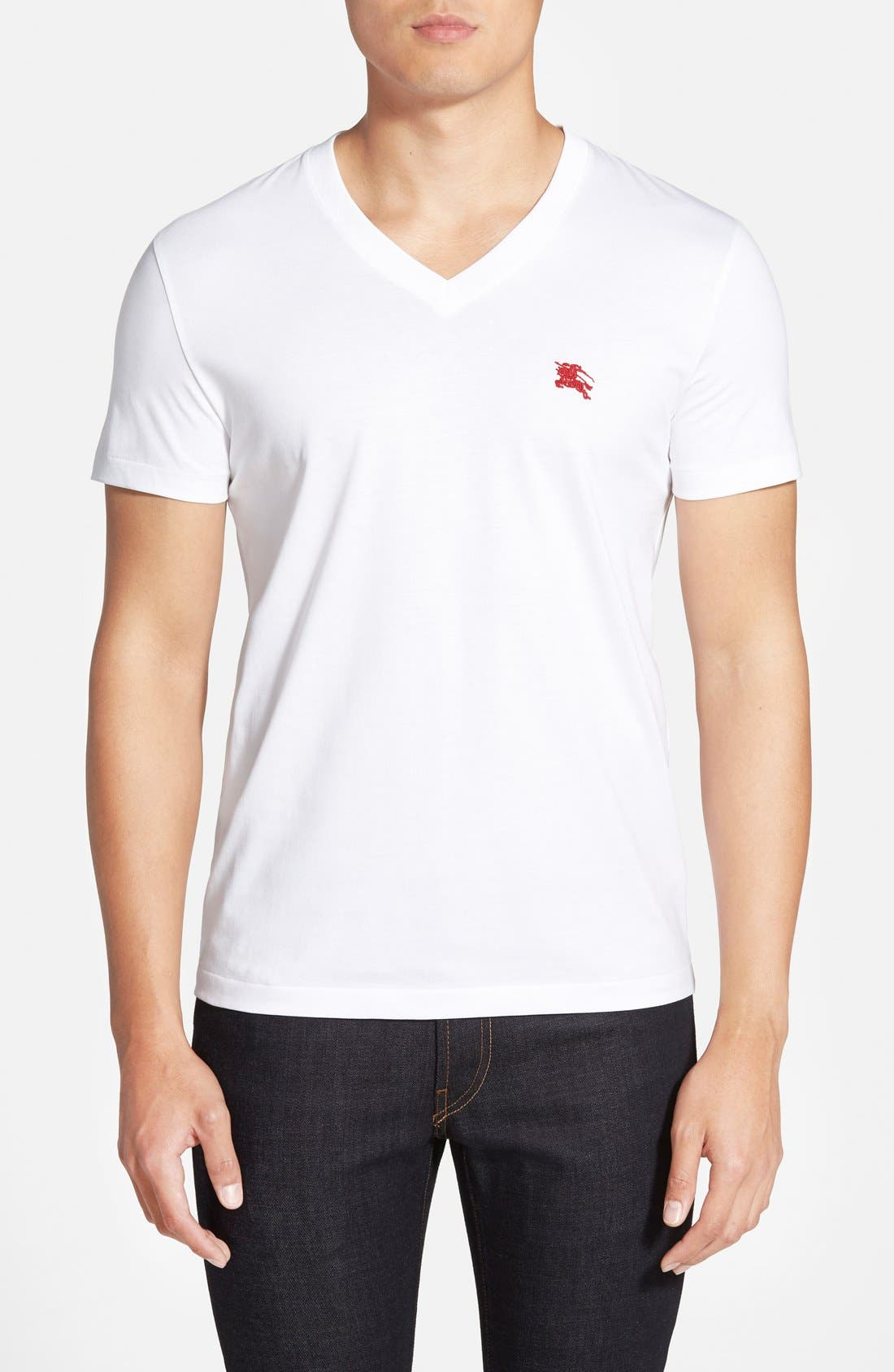 Burberry Lindon Cotton T-Shirt