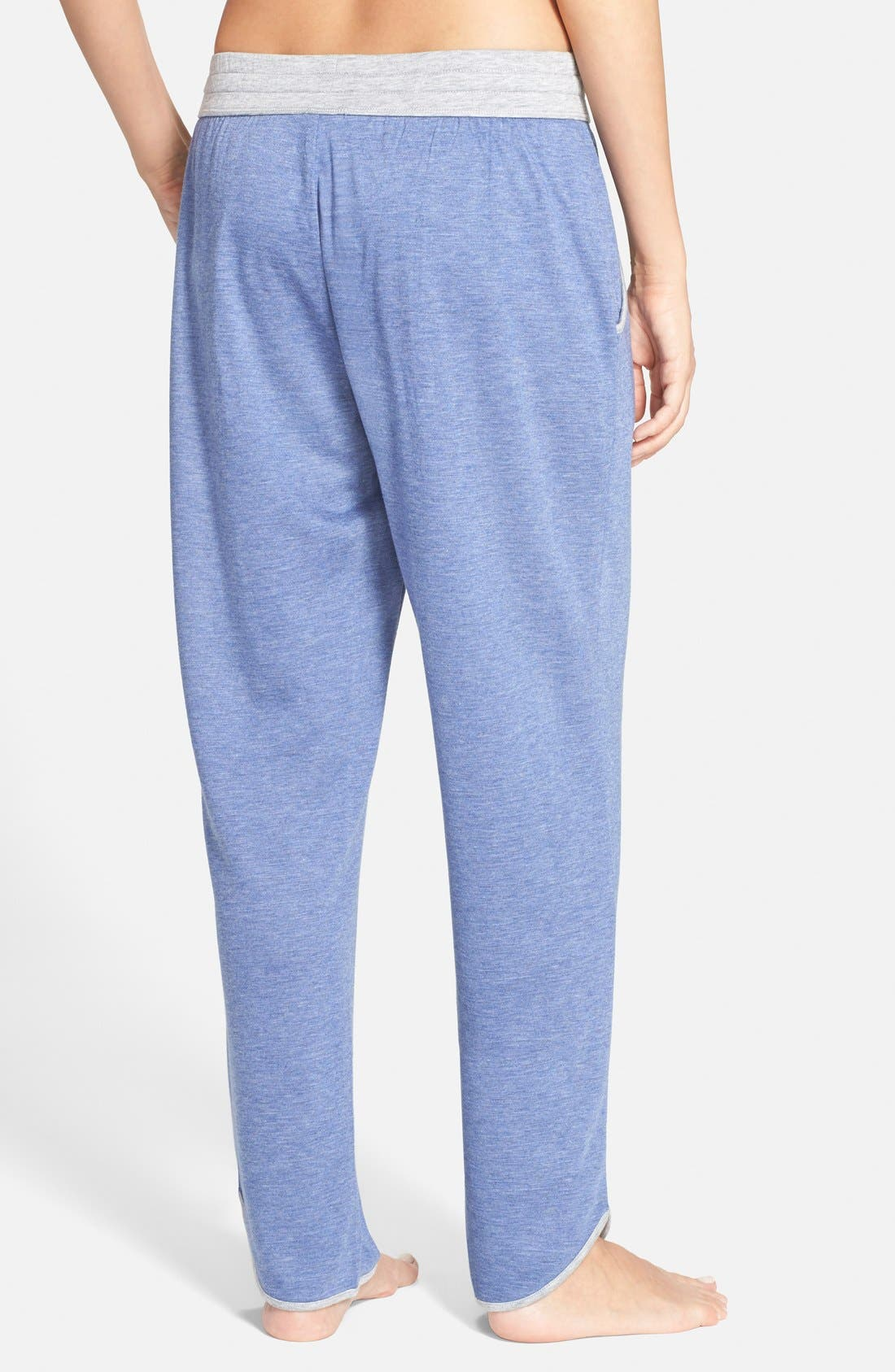 Alternate Image 2  - Carole Hochman Designs Ankle Lounge Pants