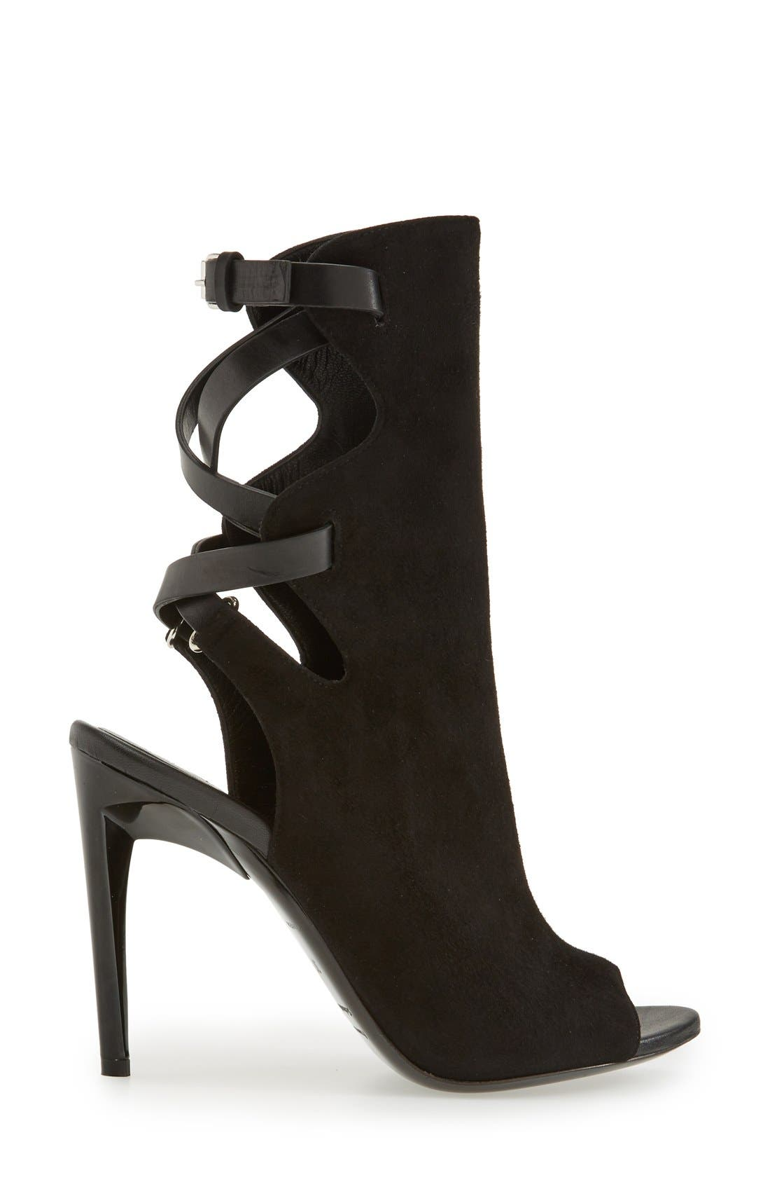 Alternate Image 4  - Proenza Schouler 'Selvino' Peep Toe Boot (Women)