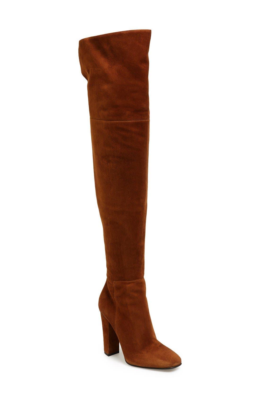 Alternate Image 1 Selected - Giuseppe Zanotti 'Alabama' Over the Knee Boot (Women)