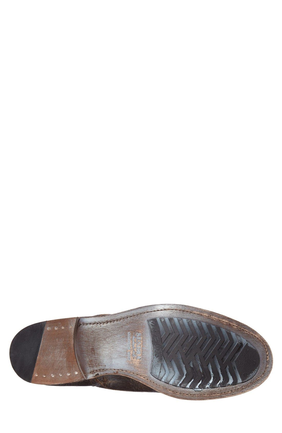 Boots 'Friar Tuk' Double Monk Strap Shoe,                             Alternate thumbnail 4, color,                             Brown Vintage