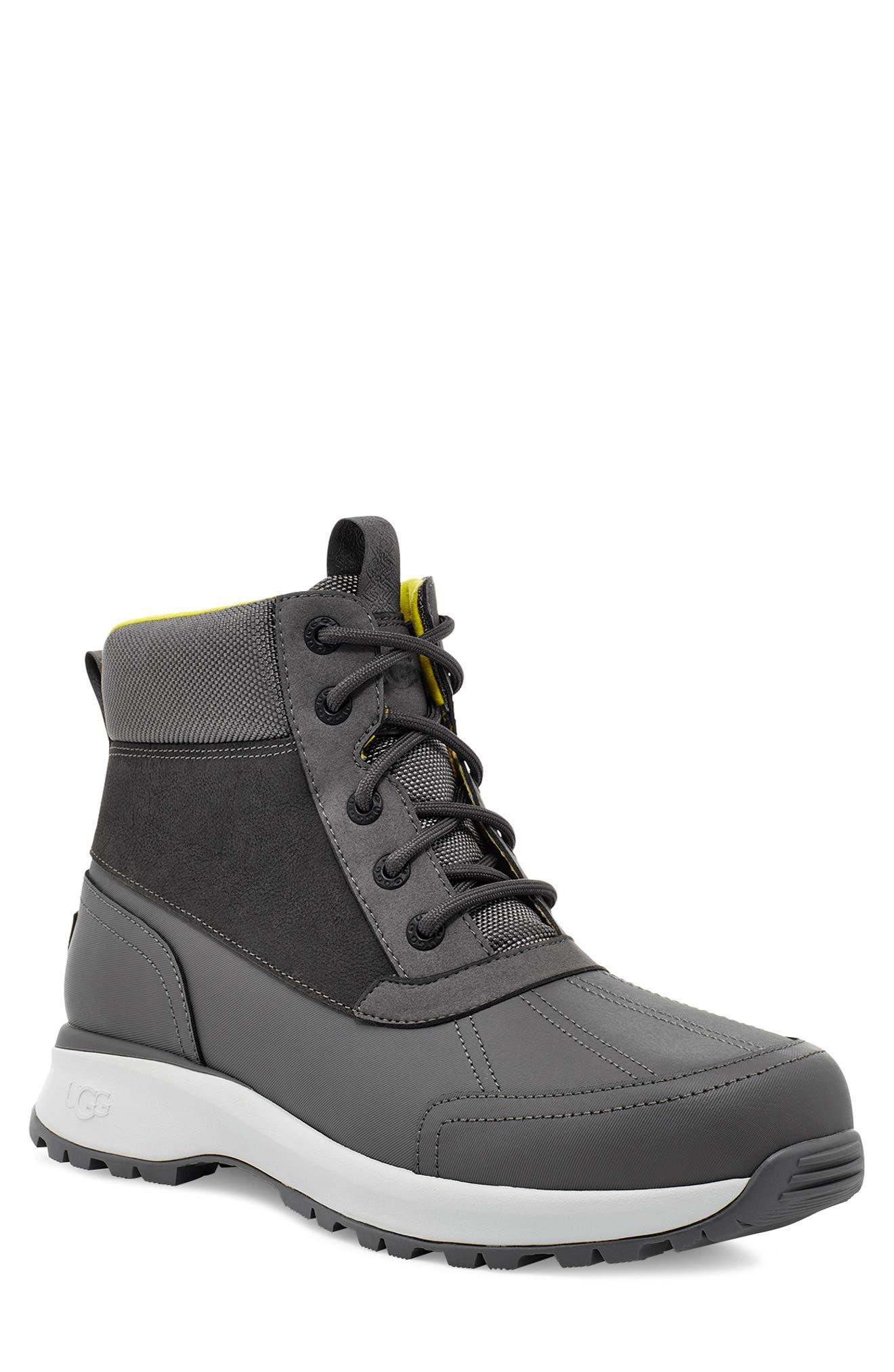 Mens Grey Boots | Nordstrom