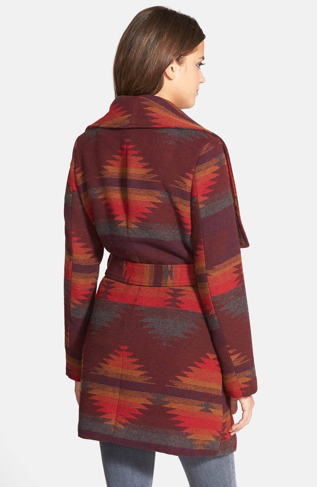 Alternate Image 2  - Steve Madden Blanket Wrap Coat