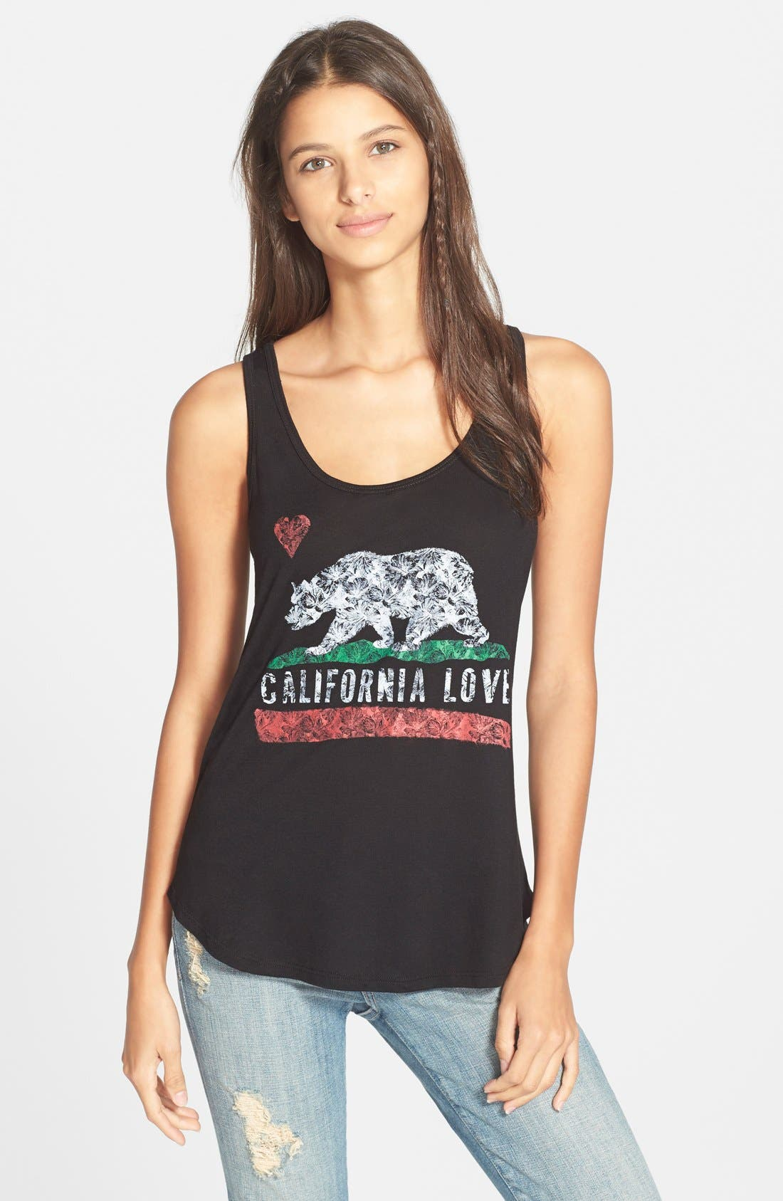 Alternate Image 1 Selected - Billabong 'Love Cali' Tank