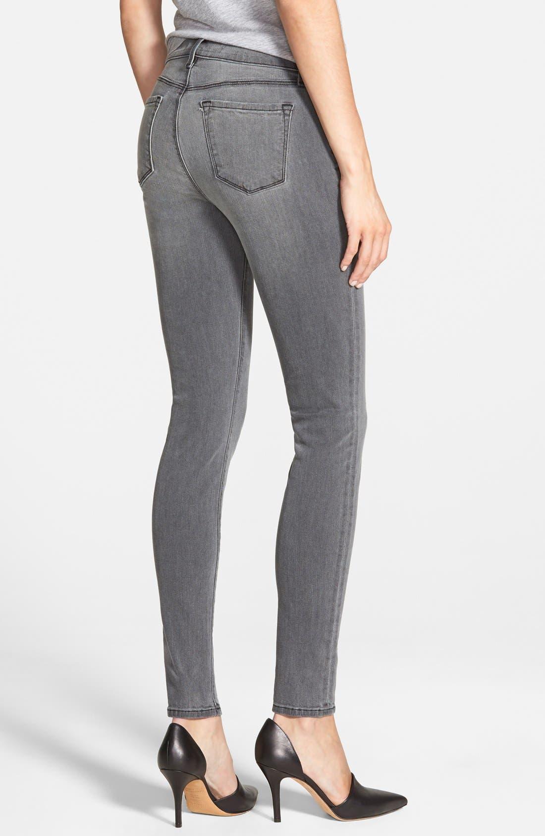Alternate Image 2  - J Brand '620' Mid Rise Skinny Jeans (Nightbird)