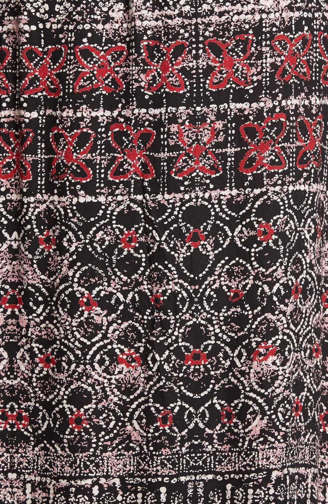 Alternate Image 3  - Angie Mixed Print Maxi Skirt (Juniors)