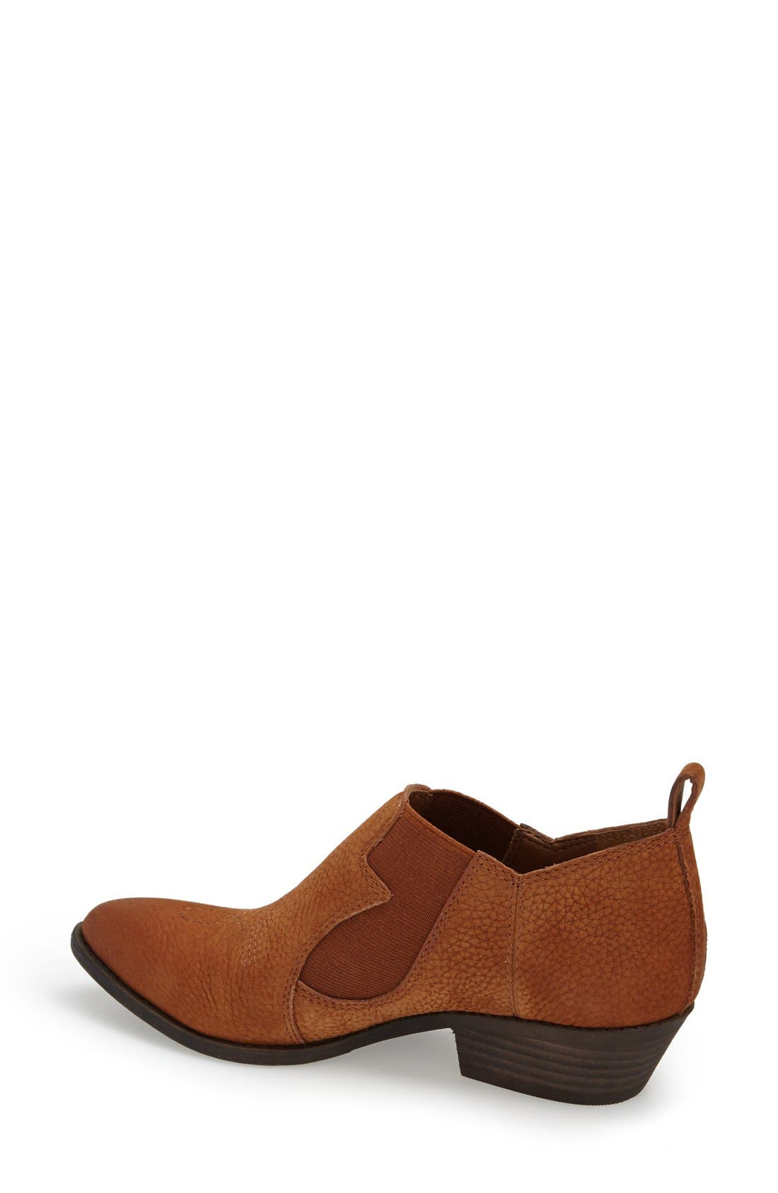 'Joelle' Western Bootie,                             Alternate thumbnail 2, color,                             Chipmunk Nubuck