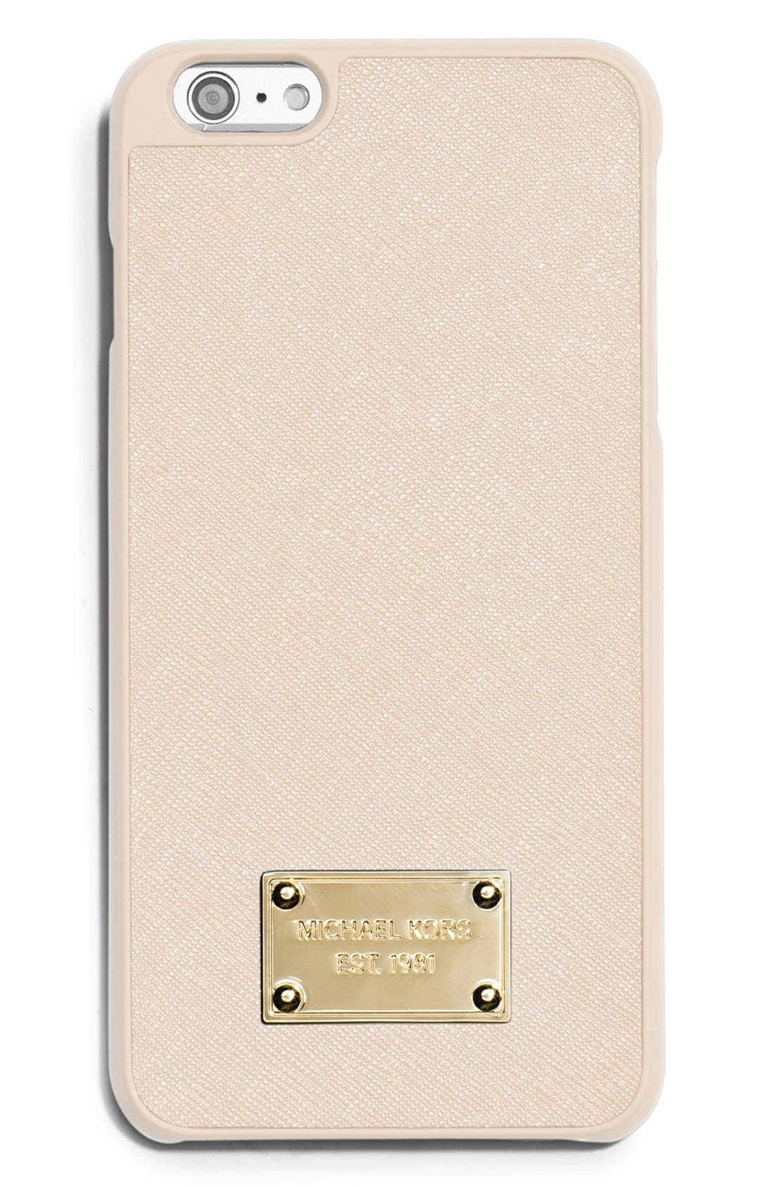 michael kors iphone michael michael kors saffiano leather iphone 6 plus amp 6s 567