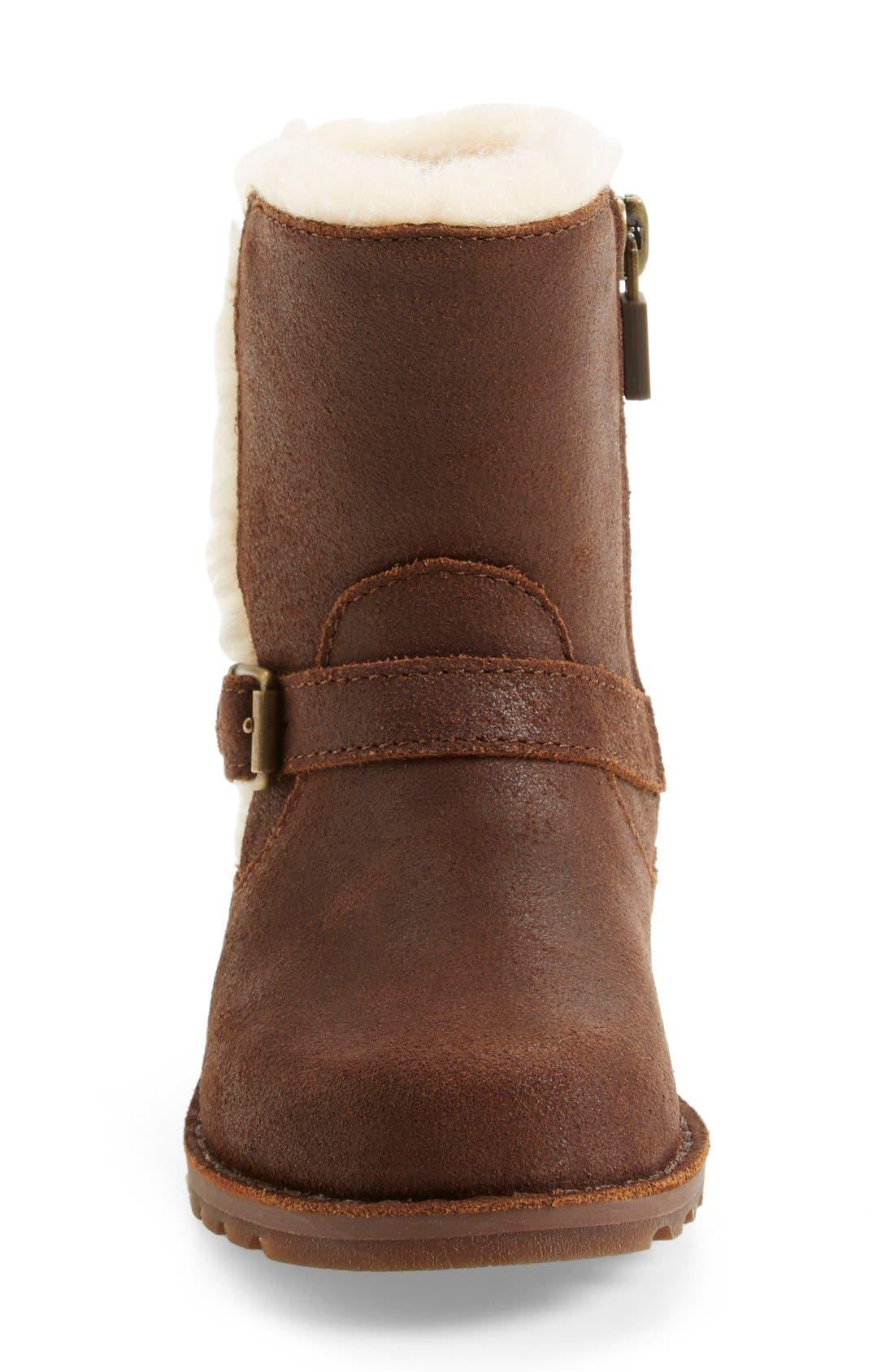 Alternate Image 3  - UGG® 'Holmes' Boot (Walker & Toddler)