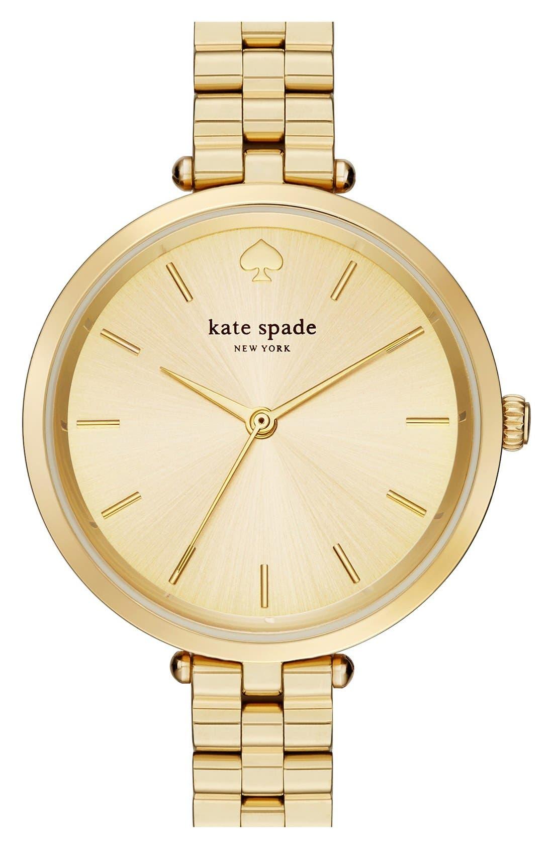 holland bracelet watch, 34mm,                         Main,                         color, Gold