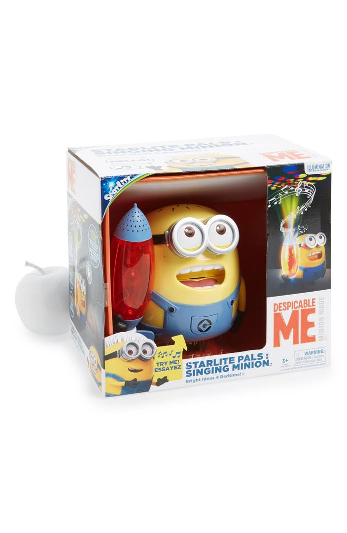 New Dimensions Starlite Pals Despicable Me Singing Minion Night Light Nordstrom