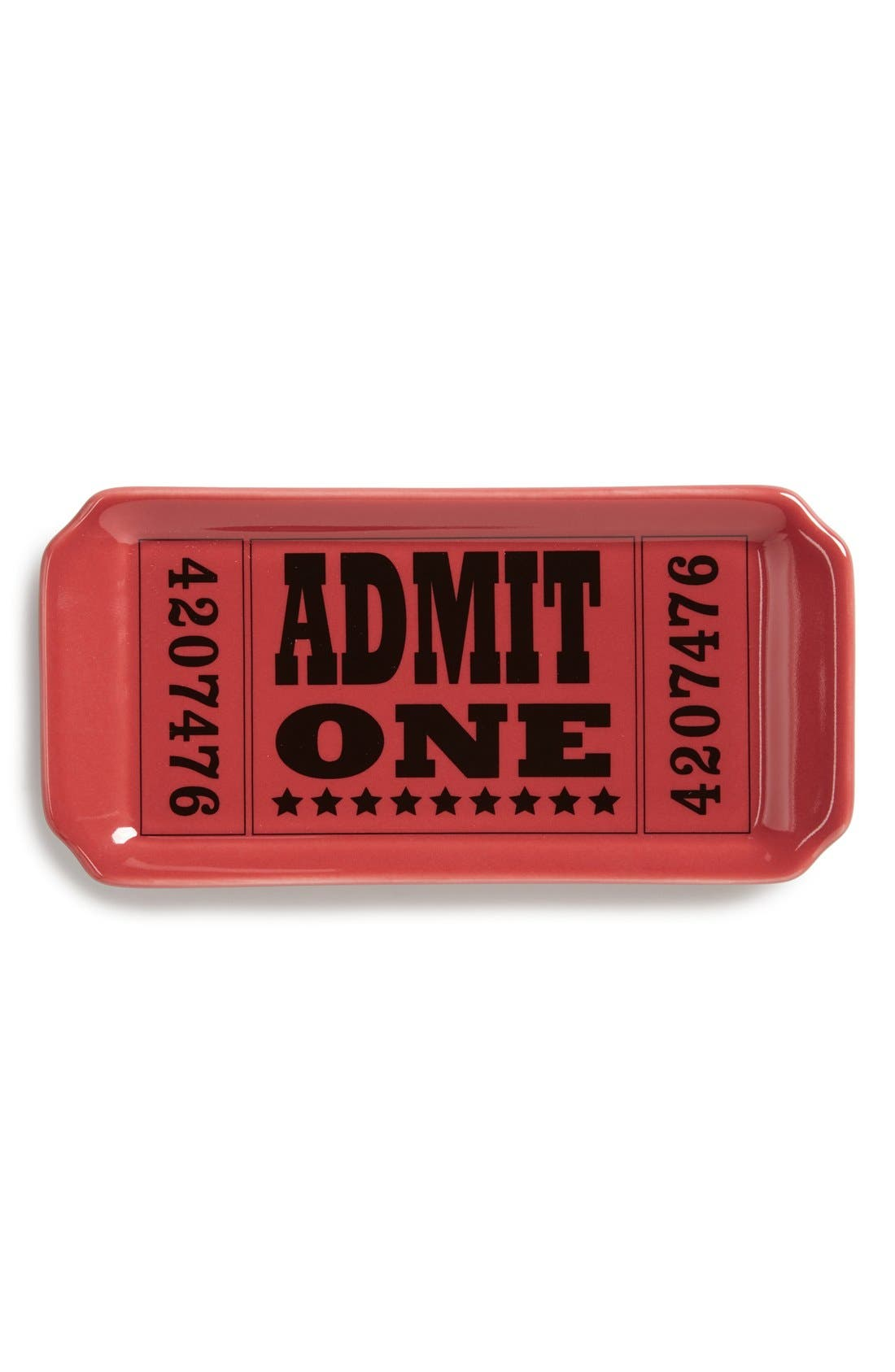 Main Image - Fishs Eddy 'Admit One' Trinket Tray