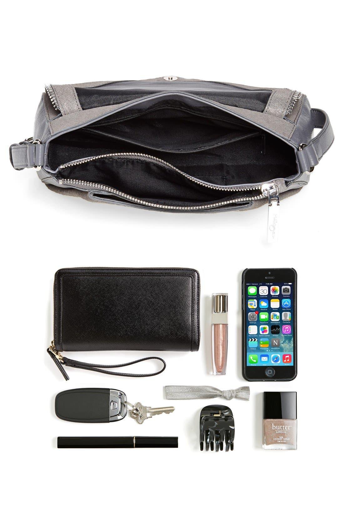 Alternate Image 7  - Halogen® Zip Detail Envelope Crossbody Bag