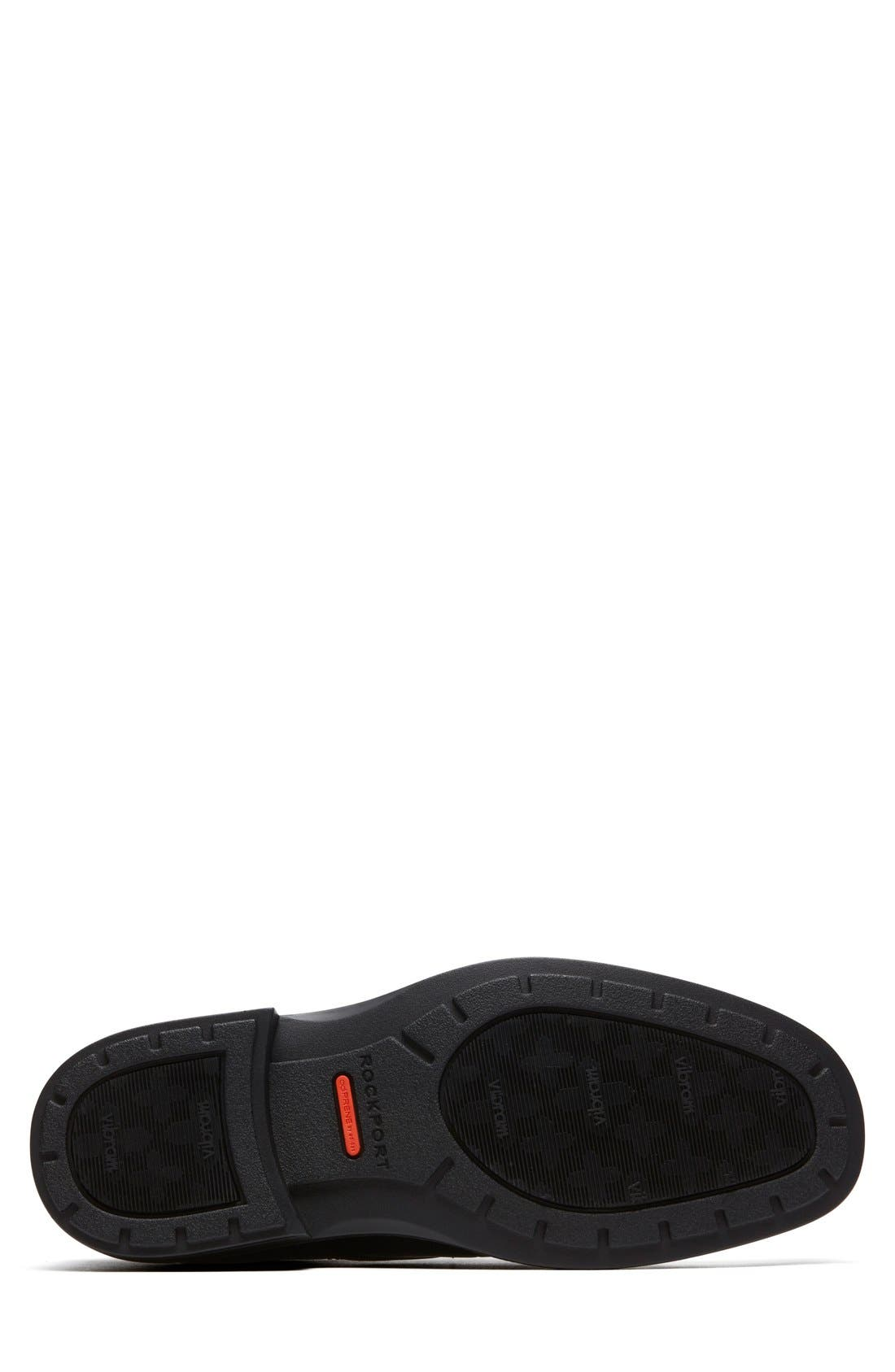 'DresSports Luxe' Cap Toe Derby,                             Alternate thumbnail 4, color,                             Black