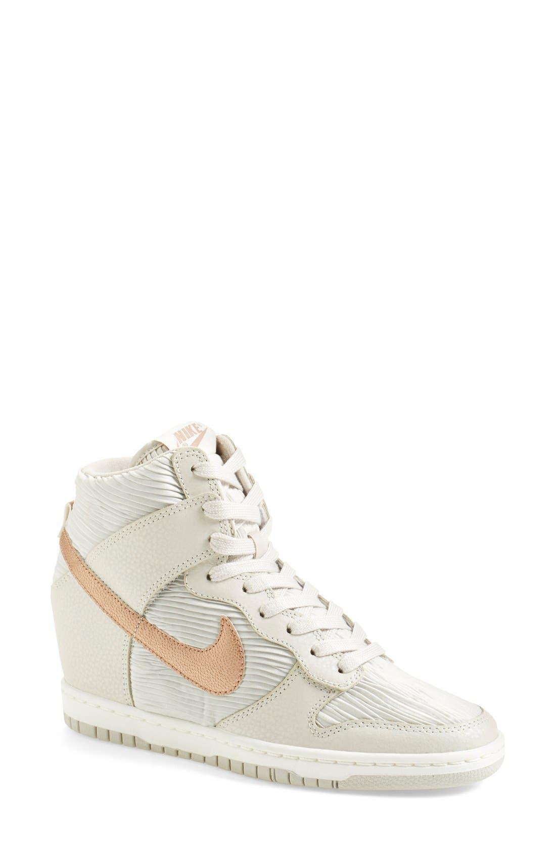 wedge sneakers nike