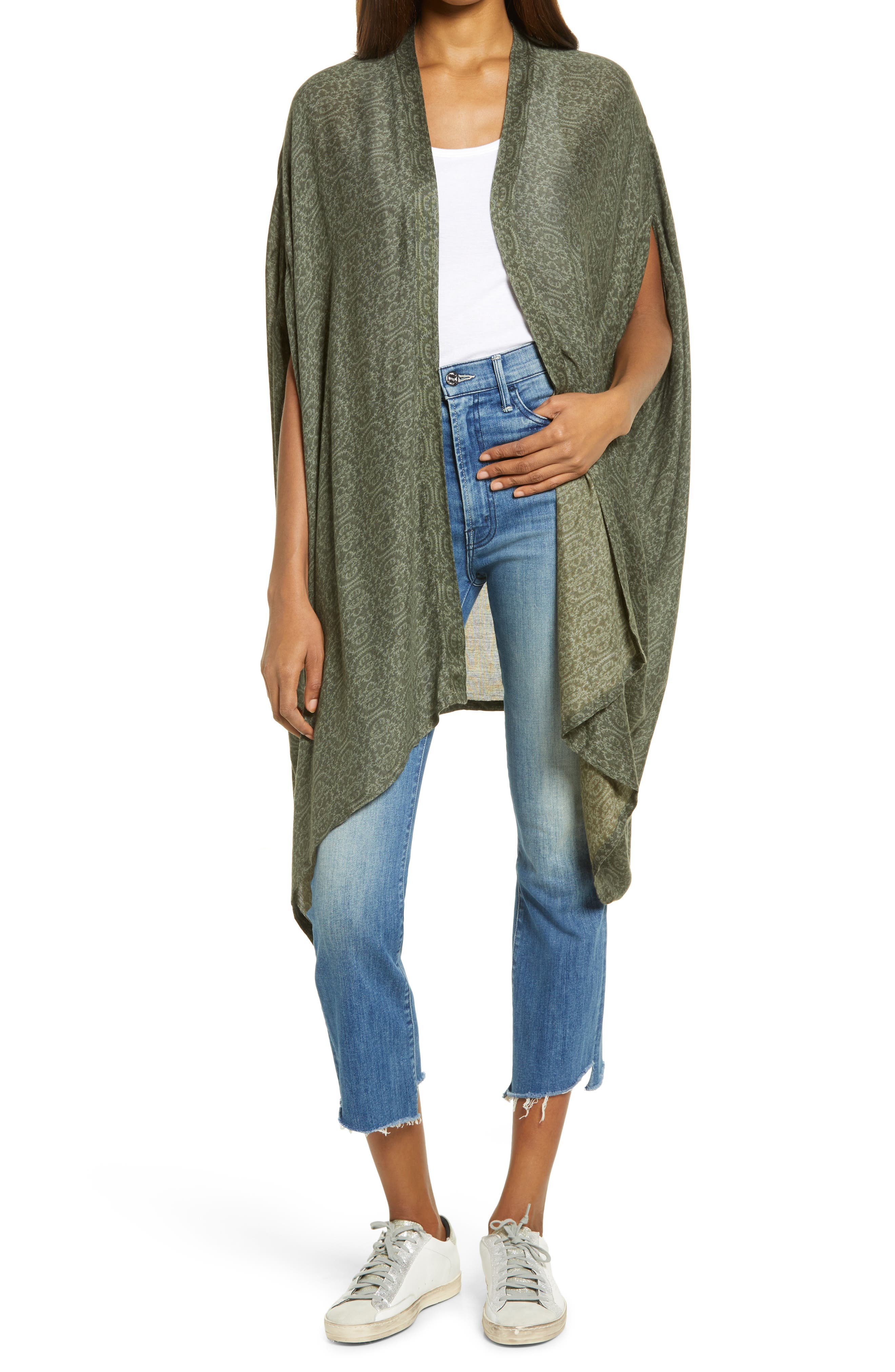Poncho shawl Pale pink and cream pure wool Plus size wrap,Plus size clothing poncho Cover Up