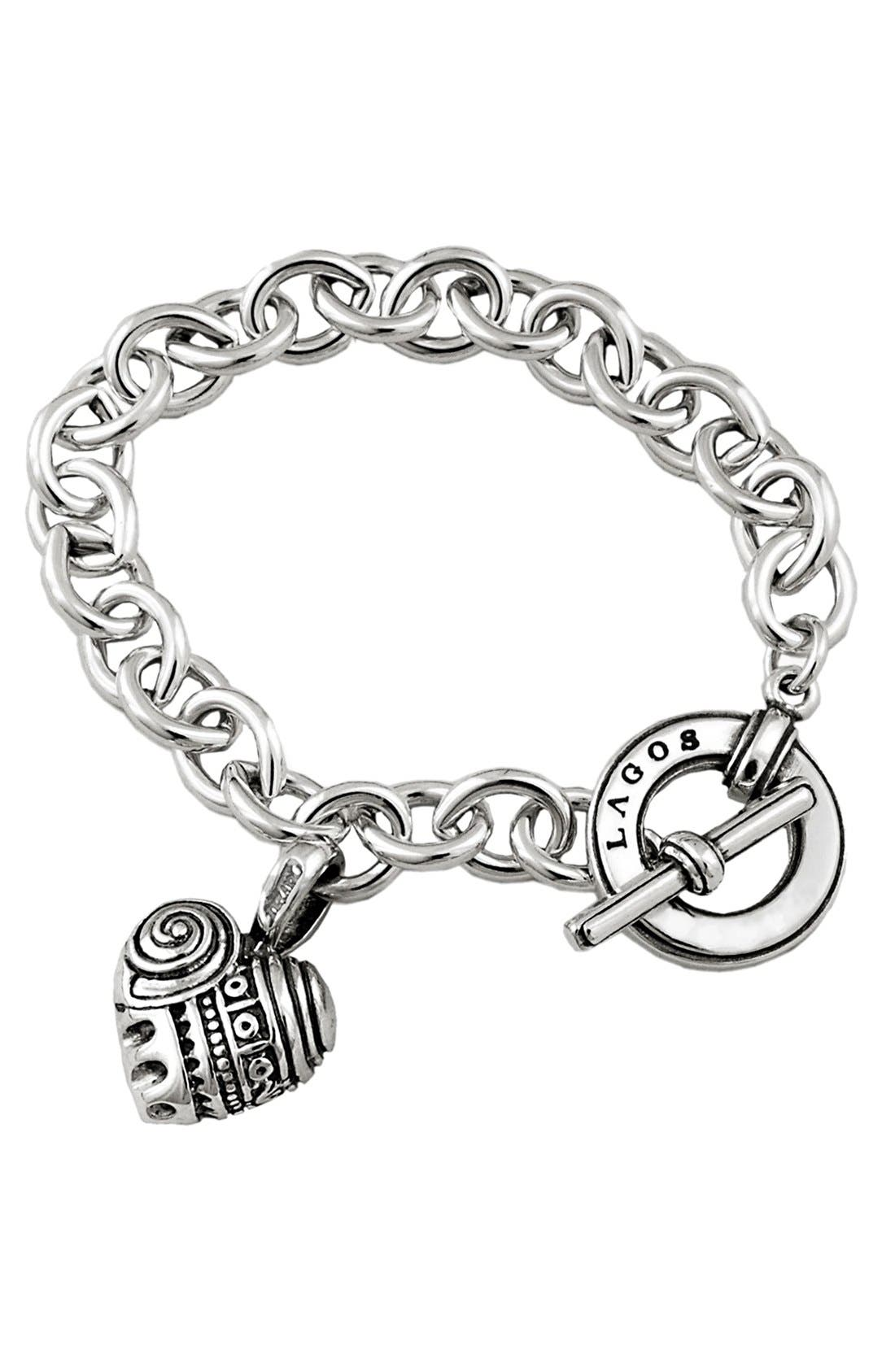 Main Image - LAGOS 'Hearts of LAGOS' Charm Bracelet
