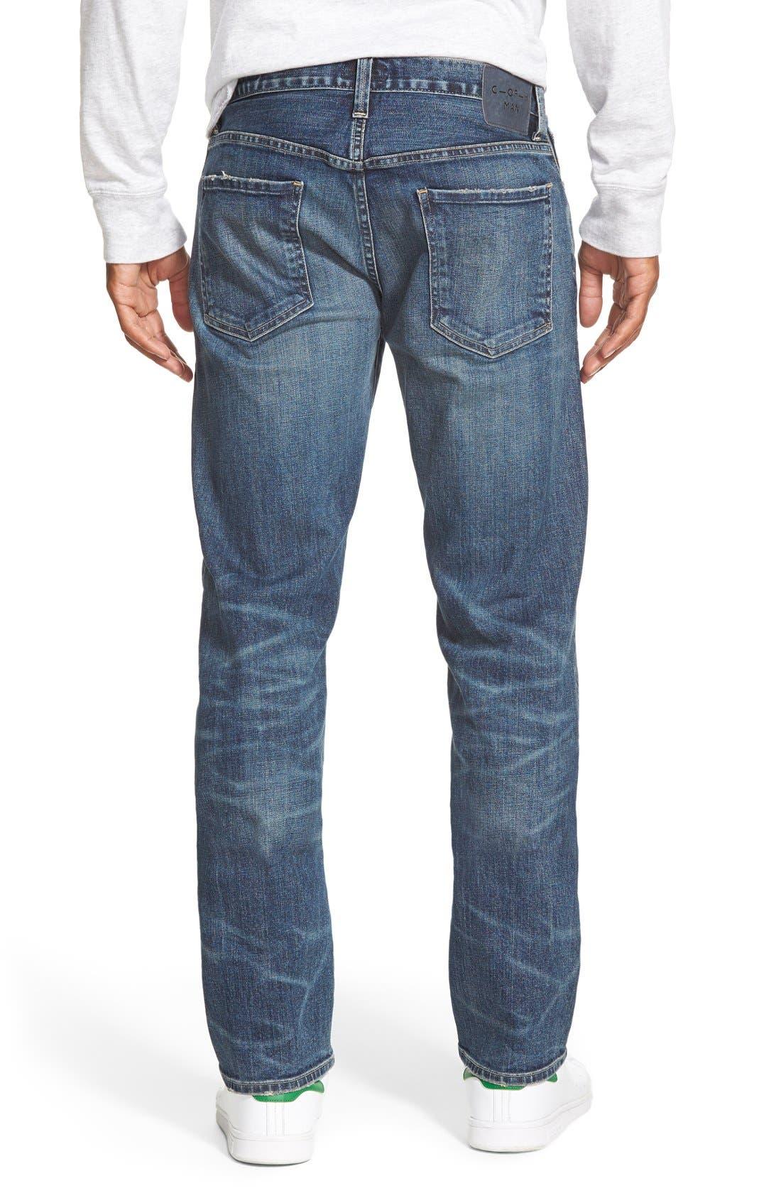 Alternate Image 2  - Citizens of Humanity 'Core' Slim Straight Leg Jeans (Lenoir)