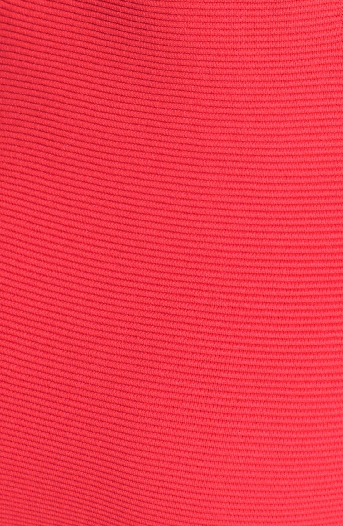Alternate Image 4  - Parker 'Amy' Knit Turtleneck Body-Con Dress