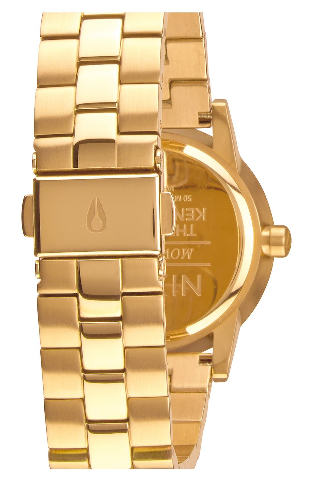 Alternate Image 2  - Nixon 'Kensington' Bracelet Watch, 32mm