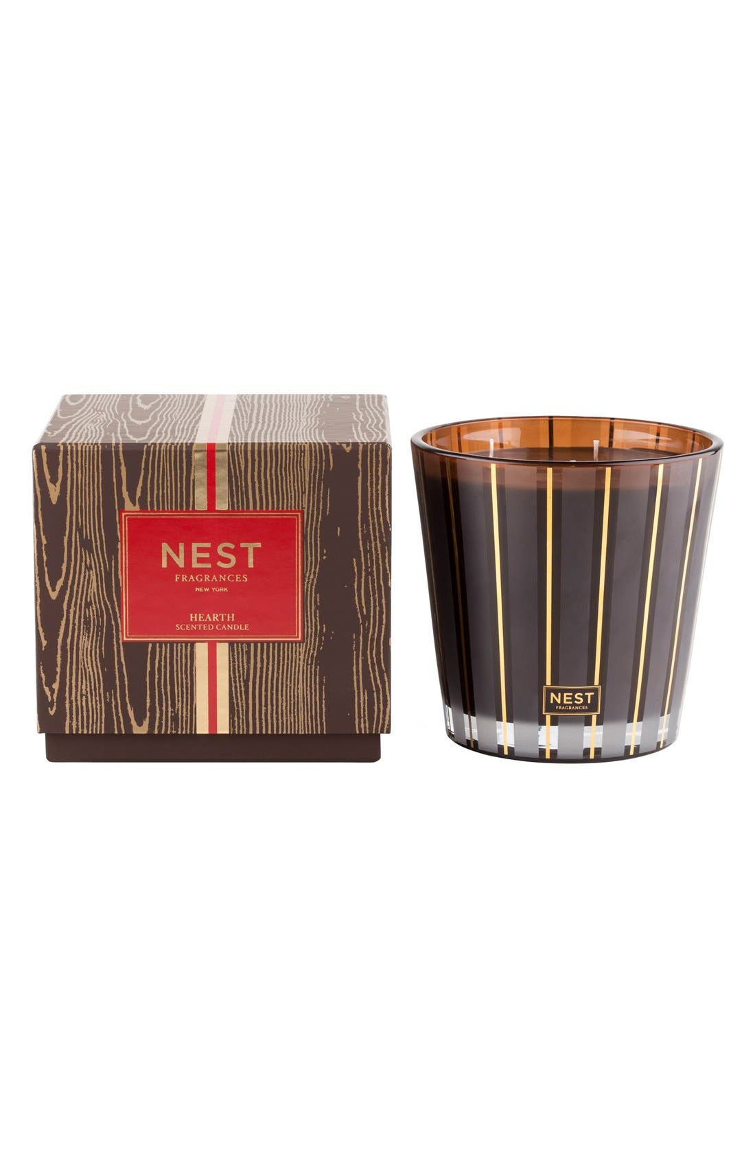 NEST Fragrances Hearth Scented Three-Wick Candle