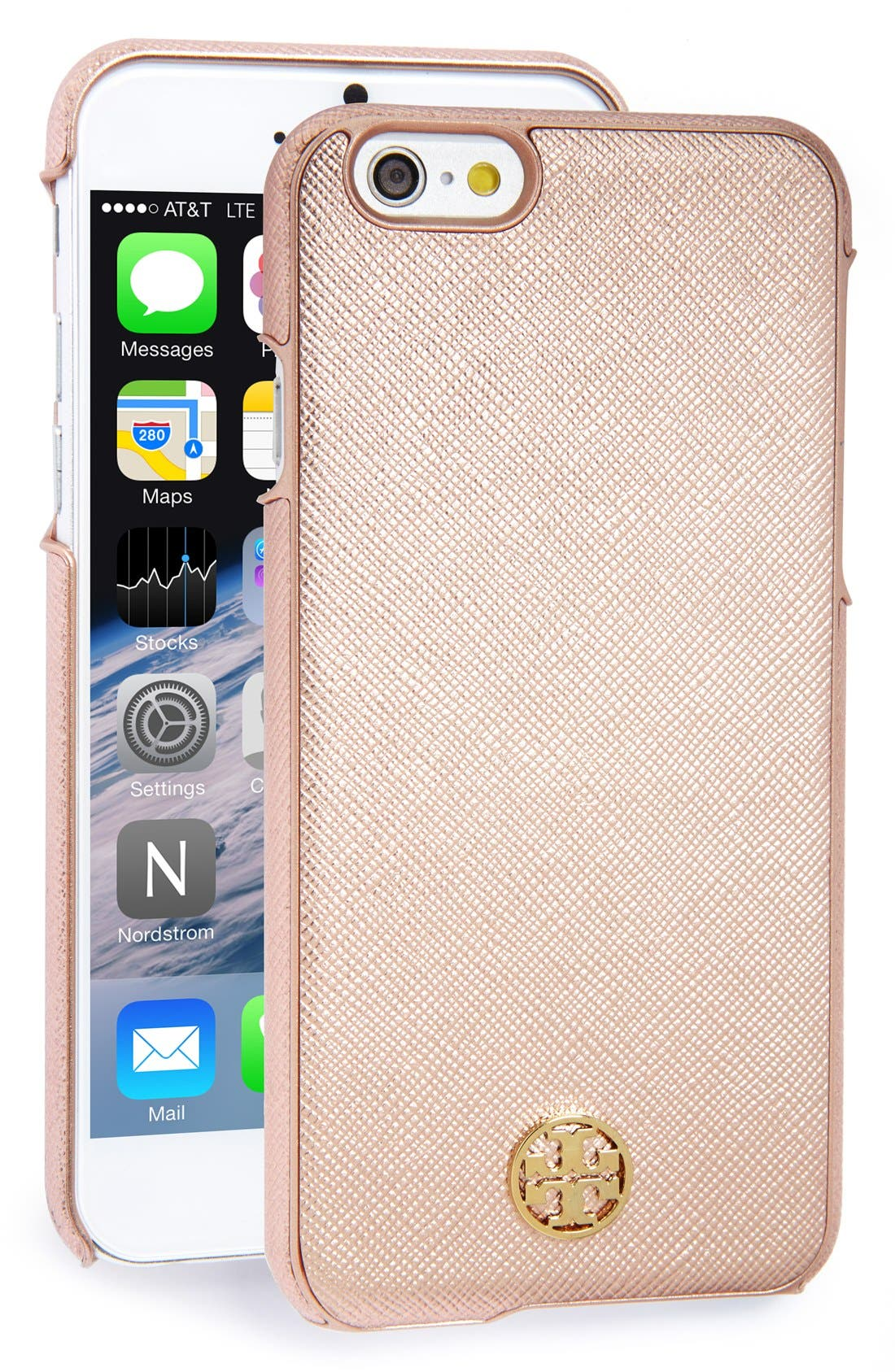 Main Image - Tory Burch 'Robinson' Saffiano Leather iPhone 6 Case