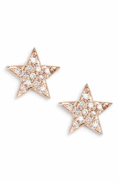 Dana Rebecca Designs Julianne Himiko Diamond Star Stud Earrings
