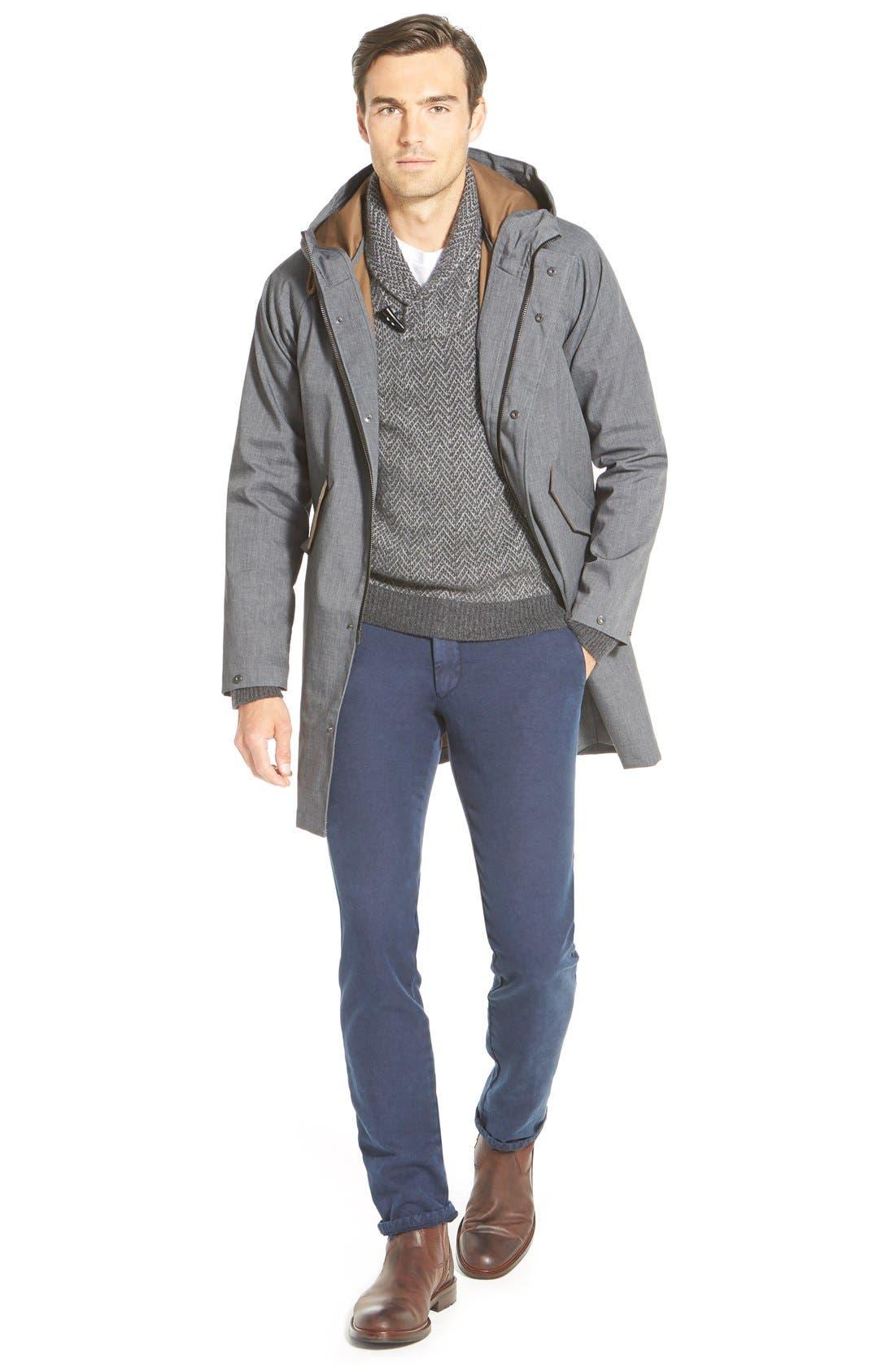 Alternate Image 4  - John W. Nordstrom® Shawl Collar Cashmere Sweater (Regular & Tall)