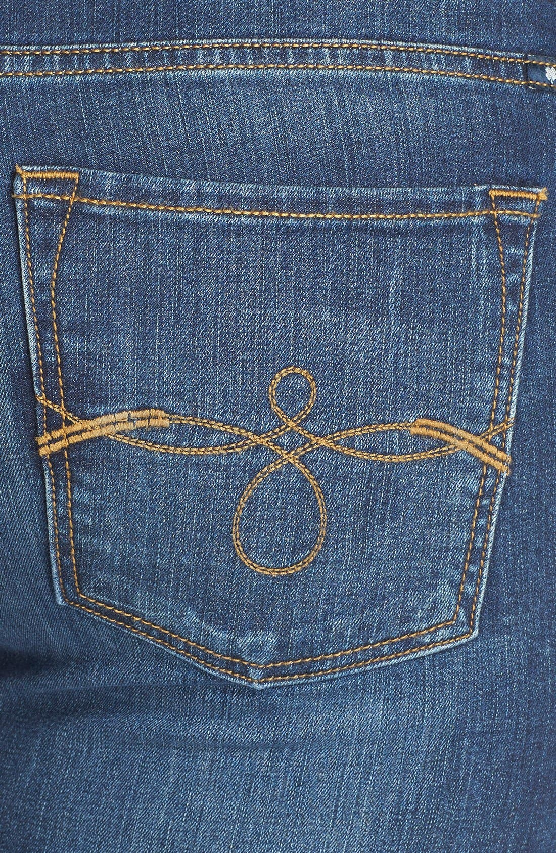 Ginger Bootcut Jeans,                             Alternate thumbnail 4, color,                             Amazonite