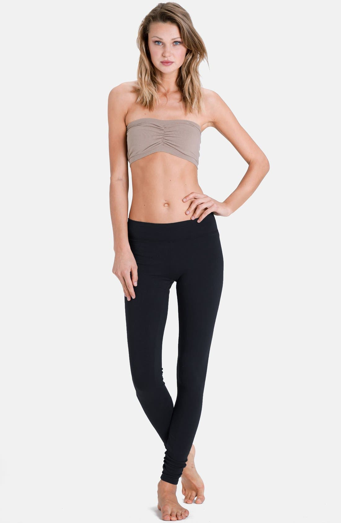 Alternate Image 2  - LAmade Flat Waistband Leggings