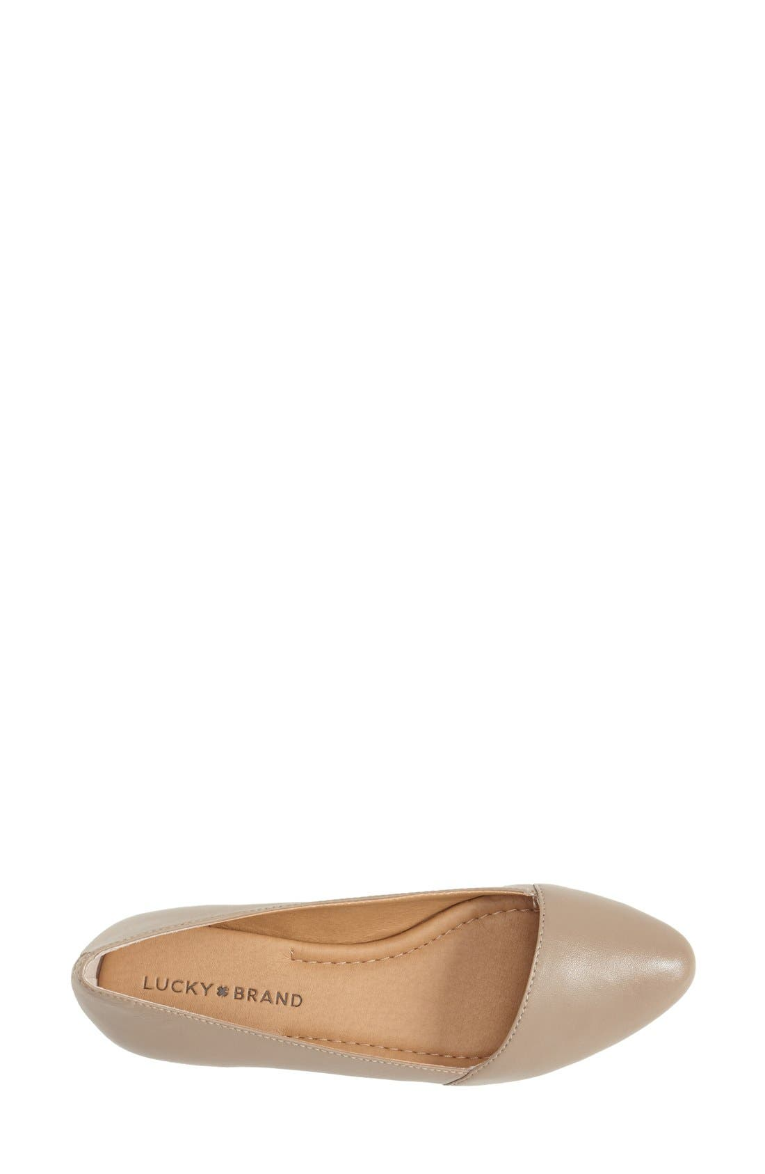 Alternate Image 3  - Lucky Brand 'Archh' Flat (Women)