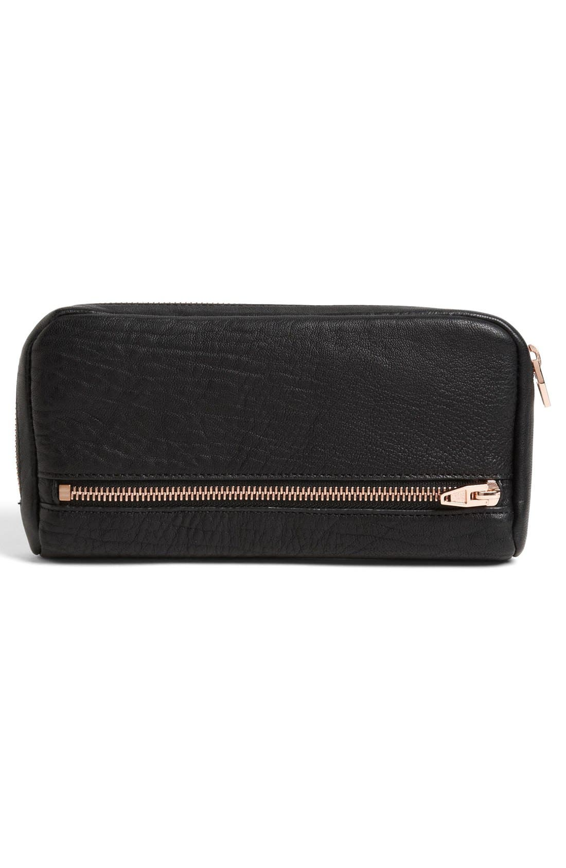 Alternate Image 4  - Alexander Wang 'Fumo' Zip Top Leather Pouch Wallet